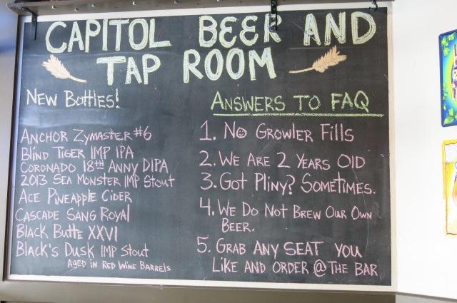 The info board - pretty funny