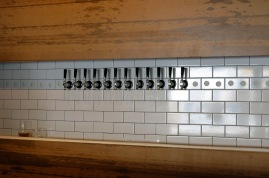 Tap wall with room to grow!