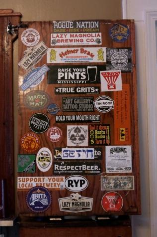 Sticker wall